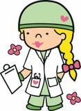 Militarny student medycyny Zdjęcia Royalty Free