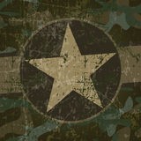 Militarny tło Obraz Royalty Free