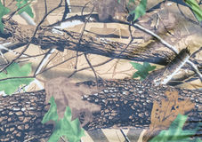 Militarny tekstura kamuflażu tło Obraz Stock