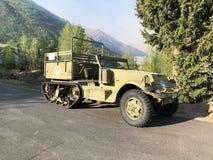 Militarny terenu pojazd obraz royalty free