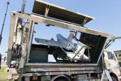 Militarny UAV truteń Zdjęcie Royalty Free