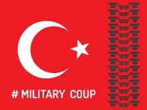 Militarny wyczyn Obraz Royalty Free
