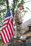 Militarny wyposażenie i żołnierze w dragon przejażdżce II Fotografia Royalty Free