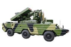 Militaru technics. Isolated Royalty Free Stock Photo