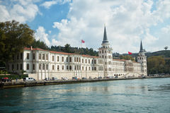 Military Academy of Istanbul Royalty Free Stock Photography