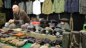 Military Accessories stock video