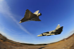 Military Air Fighters Royalty Free Stock Images