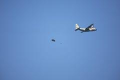 Military-air parade. Royalty Free Stock Photos