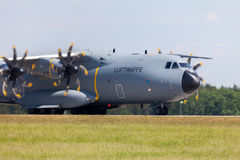 Military Airbus A 400 M plane Stock Photo