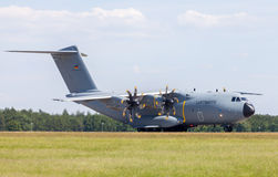 Military Airbus A 400 M plane Royalty Free Stock Photos