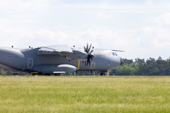 Military Airbus A 400 M plane Stock Photos