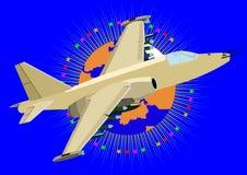 Military aircraft Stock Photo