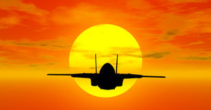 Military aircraft Stock Photography