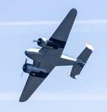 Military aircraft at an airshow Royalty Free Stock Photos