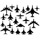 Military aircraft Royalty Free Stock Photography