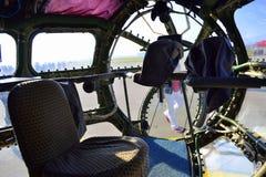 An 30 military aircraft inside Royalty Free Stock Photos