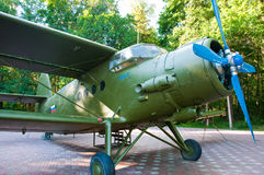 Military aircraft of the second world war. Royalty Free Stock Images