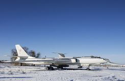 Military aircraft on  Ukraine Aviation Museum. Military aircraft on Aviation Museum Ukraine, Poltava Stock Photography