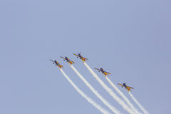 Military airplane. Royalty Free Stock Photography