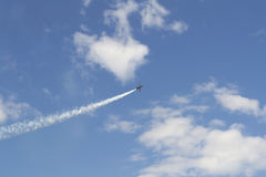 Military airplane Royalty Free Stock Photo