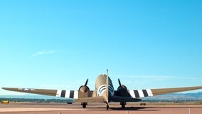 Military Airplane Stock Photography