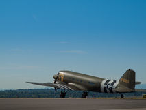 Military Airplane Royalty Free Stock Image