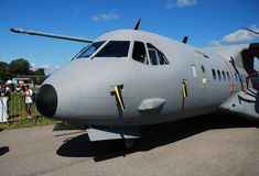 Military airplane C-295. Stock Photos