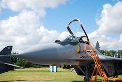 Military airplane Mig-29 Stock Images