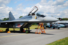 Military airplane Mig-29 Royalty Free Stock Image