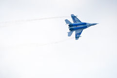 Military airplane su 27 Royalty Free Stock Photography