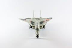 Military airplane stock image