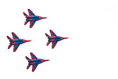 Military airplanes su 27 stock images