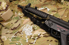 Military airsoft stuff 5 Royalty Free Stock Image