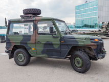 Military all-terrain vehicle Stock Image