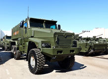Military all terrain vehicle Stock Images