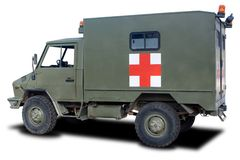 Military Ambulance Royalty Free Stock Photo