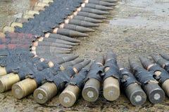 Military ammunition Royalty Free Stock Photos