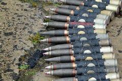 Military ammunition Royalty Free Stock Photo