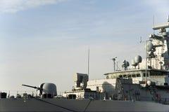 Military anti-submarine ship Stock Photo