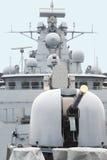 Military anti-submarine ship. Stock Photography