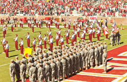 Military Appreciation Day at FSU Royalty Free Stock Images
