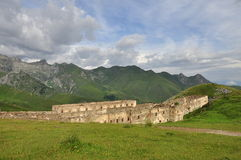 Military architectural heritage in the Italian Alp Royalty Free Stock Photography