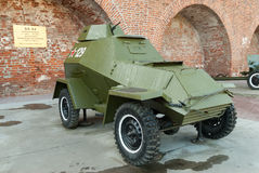 Military armored car of BA-64. Russia Stock Image