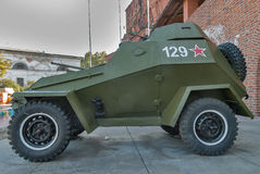 Military armored car of BA-64. Russia Royalty Free Stock Photo