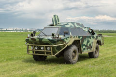 Military armored vehicle Stock Photography