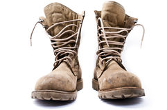 Military Army Boots Stock Photos