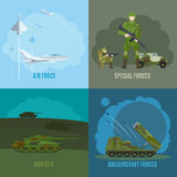 Military and army illustration Royalty Free Stock Photography