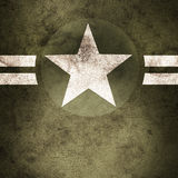 Military Army Star Background Royalty Free Stock Photography