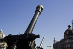 Military artillery Royalty Free Stock Image