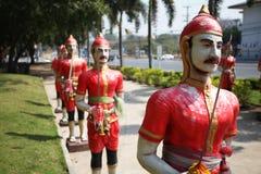 Military Ayutthaya Royalty Free Stock Image